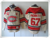 ICE Hockey Hoodies Jerseys Canadiens Männer # 67 Pacioretty CAMO Beste Qualität Nähte Trikots Sport Trikot Mix Order