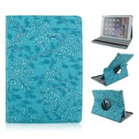 Custodia in pelle 360 ​​gradi di rotazione Grape modello del grano PU per iPad Mini iPad 2 3 Smart Cover di Apple 4 di lusso stand flip