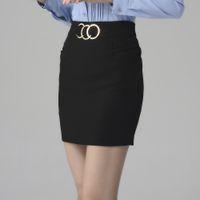 Wholesale Women Career Skirt Suits - 2016 New arrival Professional Women Skirt Female uniform OL skirt career business suits free shipping 312