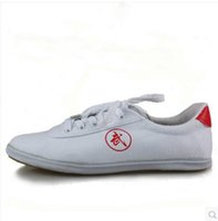 Wholesale Chinese Wing Shoes - Chinese kung fu martial arts Tai Chi Canvas Shoes Sneakers wing chun