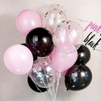 Wholesale Inflatable Green Ball - 100pcs 10inch White latex balloon Helium air balls inflatable wedding party decoration kid birthday Float Multicolor balloons