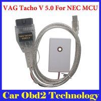Wholesale Nec Mcu - Vagtacho USB Version V 5.0 VAG Tacho V5.0 For NEC MCU 24C32 or 24C64 Free Shipping