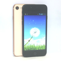 "Wholesale Gsm Silver - Goophone i8 Quad Core Android 6.0 1GB 4GB 4.7"" HD 1280*720 8MP 3G WCDMA GSM Smartphone"