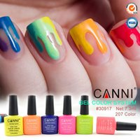 Wholesale Organic Nails Wholesale - 240pcs*7.3ml CANNI Factory Nail Art Soak off UV LED 240 Solid Colors Organic Gel Nail Polish