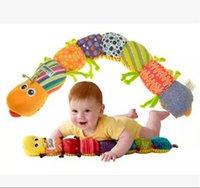 Wholesale Lamaze Toys 5pcs - free shipping Lamaze Musical Inchworm plush baby toys Educational toy 5PCS