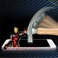 película protectora de pantalla antichoque al por mayor-Para el iphone 4S 5S 6 6S Plus Samsung Galaxy A3 A5 A7 A8 J7 G530 Anti choque a prueba de explosiones Protector de pantalla Película Protectora