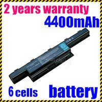 Wholesale Battery For Acer Aspire 5742 - Free shipping- New Laptop Battery for Acer Aspire 5733 5741 5741Z 5741ZG 5742 5742G 5742Z AS10D31 AS10D56 AS10D75 BT.00603.124 6Cell Li-ion