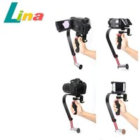 Wholesale SK W02 Steady Camera Video Handheld Stabilizer For Compact DSLR Camera Video Camcorder Canon Nikon