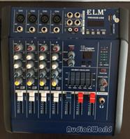 Wholesale Dj Powered Mixer Console - Professional Audio Powered Amplifier Mixer 4 Channels 5 Graphic EQ Mixing Console Mezcladora De DJ 150W+150W PMX402D