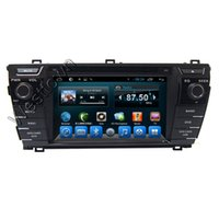 Wholesale Toyota Corolla Dash Navigation - 2 din car dvd player gps navigation entertainment system built in radio rds tv dual core fit for Toyota corolla 2014