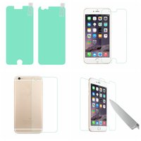 Wholesale Iphone 4s Full Package - For Iphone 7 7Plus 6 6S 4.7 Plus 4 4S 5 5S SE BUFF Ultimate 2in1 Front+Back Screen Protector Full Body Shock Absorption With Retail Package