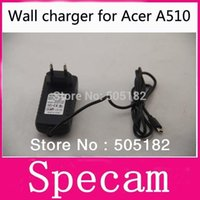 Wholesale Iconia Home Charger - 2014NEW DC 12V 2.0A Travel home wall Charger Power Adapter For Acer Iconia A510 A700 A701 tablet pc free drop shipping A5