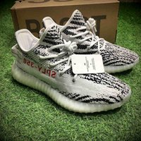 ORIGINALI 350 BOOST V2 ZEBRA SPLY-350 NERO BIANCO NERO ROSA RUNNING SHOES PER UOMO KANYE WEST SPORT SHOES DONNA BOOST 350 V2 ECONOMICO