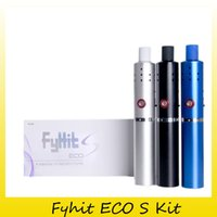 Wholesale Eco Pen - New Arrival Original Herbstick Fyhit ECO S Kit Vape Dry Herb Vaporizer Pen 18650 2200mAh Battery Capacity Huge Vape Mod 100% Genuine 2248002