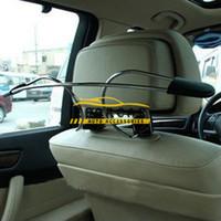 sièges d'auto en métal achat en gros de-Nouveau Métal De Voiture Cintre De Voiture Organisateur Auto Siège Appui-Tête Vestes Costumes Titulaire Crochet Styling Stowing Tiding Accessoires