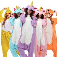 Wholesale Cartoon Onesies For Adults - Family Christmas Pajamas Unicorn Dinosaur Owl Unisex Flannel Pajamas Adults Cosplay Cartoon Animal Onesies Sleepwear For Women Men Child
