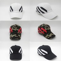 Wholesale Golf Balls Retail - 3 color retail Off White Cap Baseball cap PALACE snapback Hat White skateboard brand golf for women and men of the hat CASQUETTE