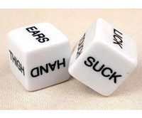 Wholesale Sex Dice Wholesale - 5pcs Sexy Dice Body parts Adult Couples Lover Party Game Gambling Funny Toys Sex Toy For Adult Sex Game