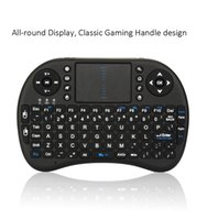 Cassetta TV Fly Air Mouse Wireless Keyboards carica Touch Portable 2.4G Mini batteria USB 2.4G Mouse Combo Touchpad PC