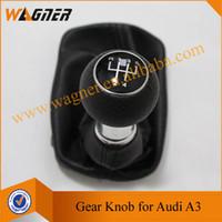 Wholesale Audi Shift Knob - WAGNER Free Shipping Hotsale Gear Shift knob 5 Gear for Audi A3 S3 8L (2000-2003) A3*