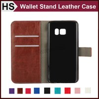 Wholesale case hard grand - Wallet Leather Case For iPhone 5 5S 6 6S 7 Plus amsung S7 Edge S6 Edge J1 Grand Prime Z1 Card Pocket Stand & Hard Skin Flip Cover DHL