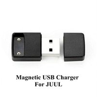 Wholesale Electronic Cigarette Flat - USB Charger Wireless Charger Magnetic For Juul Juul V2 COCO Pod Vape Pen Electronic Cigarettes Accessory For Flat Battery