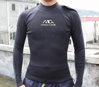 Wholesale Wetsuit Top L - Wholesale-Brand NEW Mens 1.5mm Top Quality Neoprene CR with Super Stretch surfing wetsuit top