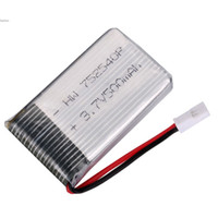 Wholesale Rc Radio Parts - 3.7V 500mAh RC Helicopter Battery Radio Control Airplanes Accessories Spare Parts Battery Top Quality Drop Shipping 41
