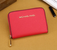 Wholesale Card Holder Cheap - Brand new Good Quality cheap women lady Fashion classic designer luxury textured leather mini wallet purse
