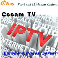 Wholesale 8gb server - CCCAM IPTV Streaming Cline 4 Clines validity Support European Spain France decoder Free Test CCcam Server Receiver