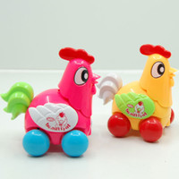 Wholesale Clockwork Chickens - Wholesale-Wholesale educational toys clockwork toy chicken chicken chain spread the joy of little foolish chicken stock 50g