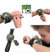 Wholesale Toy Rubber Belts - New Cartoon BEN 10 Force ULTIMATE OMNITRIX Watch ben10 Children toys as Gifts Free Shipping