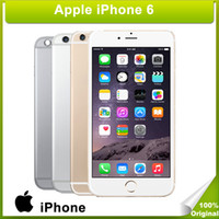 Wholesale Apple Iphone Network - DHL Refurbished Apple Iphone 6 without fingerprint 16G ROM 4G network 4.7inch 5.5inch Smart phone
