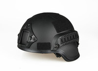 Wholesale Black Green Men Tactical FAST Helmet Free Size For Hunting and Protect with Good Quality CL9