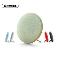 Wholesale Double Buttons - Original REMAX M9 2018 high-end bluetooth mini speaker double stereo portable wireless soundbar speakers 6hours lated distinctive cloth