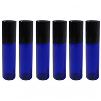 blue cobalt bottle - 50 ML Glass Roll On Bottles Cobalt Blue Glass roll on bottle essential oil use cosmetic packing