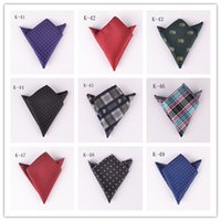 SP08 spot tie - New pattern Spot goods Pocket towel Fashion High grade Small square married Party Handkerchief Tie SP08