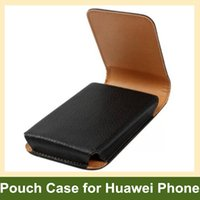 Wholesale Nexus Vertical Case - Wholesale Belt Clip PU Leather Vertical Flip Cover Pouch Case for Huawei Nexus 6P 100pcs lot Drop Shipping