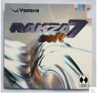 revestimiento de goma al por mayor-Yasaka Soft 7 de alta calidad de ping pong de goma de ping pong de goma para la cuchilla / bate / placa base
