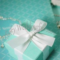 Free Shipping! Blue Candy Boxes, Blue Boxes Favors, wedding favors boxes, party favor boes