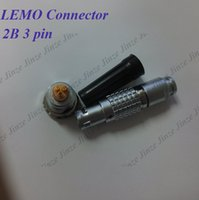 Connettore LEMO FGG.2B.303.CLAD ** Z, connettore EGG.2B.303.CLL LEMO 2B, connettore a 3 pin