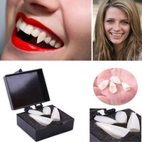 Wholesale- Zombie Fang 2Pcs Blood Pills Halloween Vampire Teeth Puntelli Costume Party