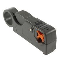 cortador de cabo coaxial venda por atacado-1 pcs Coaxial MultiFunction Cable Stripper / Ferramenta de Corte Rotary Coax Stripper para RG59 / 6/58 Ferramenta de Rede Worldwide FreeShipping