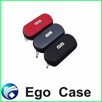 Wholesale Ego Leopard Box Case - Hot Ego Case Leopard Style Color With Zipper L Size Ego Box Ego Bag For Electronic Kit Cigarette Ego Cigarette Case