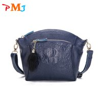 Wholesale Green Hobo Purse - Wholesale-New Fashion 2015 Women Messenger Bags Shoulder bag ladies made of genuine leather Lady's bag crossbody Bags for women purses