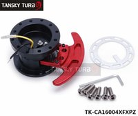 Wholesale Tansky Universal Steering Wheel Snap Off Quick Release Hub Adapter Boss kit TK CA16004XFXPZ Quick Shipping Have In Stock