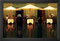 ingrosso olio spagnolo-dipinti di arte contemporanea di Brent Lynch Spanish Cafe dipinto a mano olio su tela di alta qualità