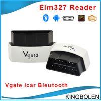 Wholesale Vgate Icar - Original Vgate iCar 3 Bluetooth OBDII super mini ELM327 Bluetooth Car Diagnostic interface Free Shipping
