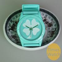 счастливые часы оптовых-13 цветов унисекс Клевер повезло подарок на день рождения силиконовые часы мода часы деко Бесплатная доставка наручные часы мода кварцевые часы