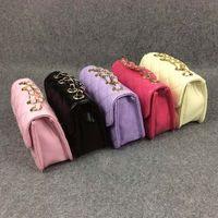 Wholesale Korean Purses Princess - Children Bags Backpacks Girls Bags Backpack Purses Shoulder Bags Korean Princess 2015 Leather Bag Satchel Bag Girls Backpacks Kids Bag C8033